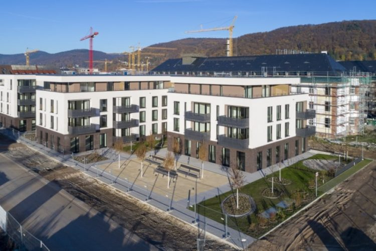 Neubauprojekt der Stiftung in den Campbell Baracks in Heidelberg