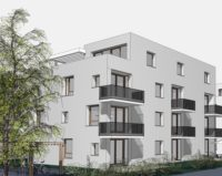 Neubau im Sophiencarrée Karlsruhe Wohnungen mit Balkon